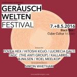 07.-08.05.2016 -- Geräuschwelten festival 2016