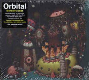 Orbital - Monsters Exist CD