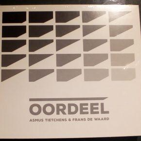 New release: Asmus Tietchens + Frans de Waard - Oordeel CD